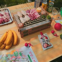 杭州寧波鑫坤格瑞爾招商便攜式火山巖燒烤爐批發供貨配貨圖片