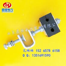 塔用引下线夹杆用紧固夹具ADSS光缆引下线夹生产供应图片