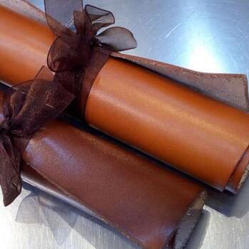 头层树膏皮1.8-2.0mm手工品牌原版植鞣真皮