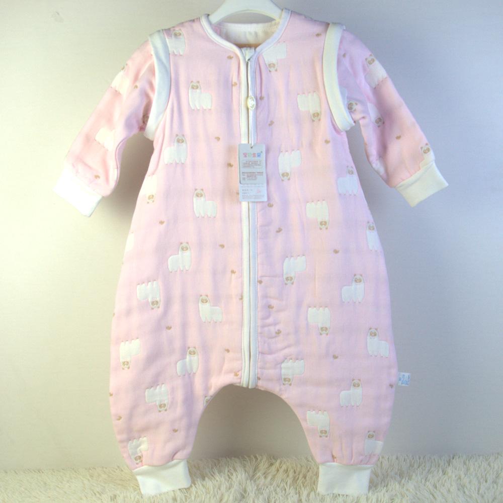 荆州婴童服饰网供应宝宝纱布睡袋婴儿纱布睡袋厂家直销价