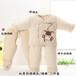 嬰兒冬款衣服加厚彩棉棉襖棉褲三件套重慶寶寶冬裝批發