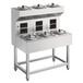 顺艺厨具智能商用双层单列6头数码煲仔饭机