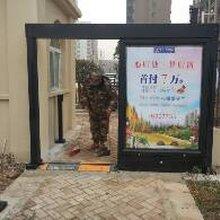 小区人行广告门之人行通道广告门图片