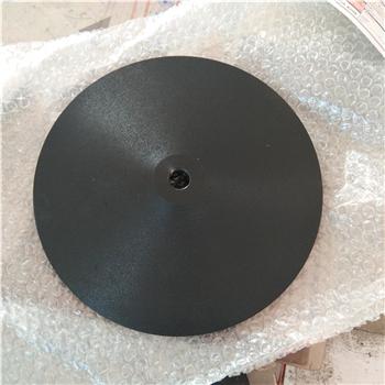 铸铁圆盘底座太阳伞警戒线隔离栏配重底座广告标志牌圆形铸铁底座