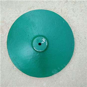 铸铁圆盘教练杆圆形铸铁底座台灯路灯配重底座相机支架底座
