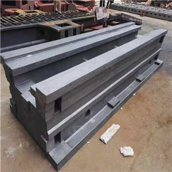 数控机床铸件车床床身机床工作台滑台斜床身床身铸造