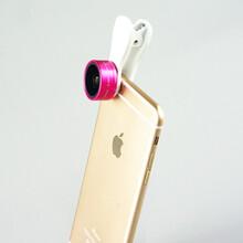 猎奇厂家直销手机镜头,F-515,0.36X广角+15X微距二合一手机特效镜头图片