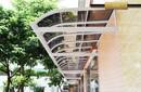 富诺尼华定制福州新型耐力板雨棚庭院组合式pc露台棚