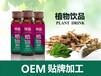 30ml植物饮料OEM草本植物饮料包工包料代加工功能饮料代工厂家