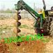 包头出售拖拉机后悬挂植树挖坑机价格