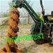 鸡西出售大型拖拉机带植树挖坑机价格