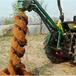 嘉兴定做拖拉机带植树挖坑机价格