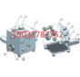 ZDY3500LQZDY4000LR西安煤科院鉆機配件給進起撥油路板總成圖片