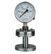 石油,化工YTPF-100不锈钢隔膜压力表