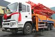 永州34米混凝土泵车40米臂架式泵车37米搅拌泵车43米天泵价格多少钱