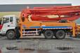 烟台小型32米小型泵车25米混凝土泵车34米车载泵车臂架式泵车厂家直销