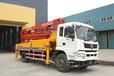 商洛小型41米臂架式泵车天泵21米车载泵车35米九合天泵价格生产厂家直销