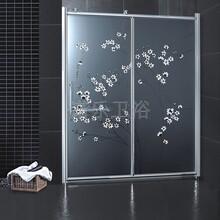 酒店工程淋浴房简易淋浴房最新丝印淋浴房装饰淋浴房