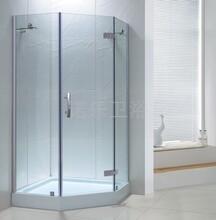 无框钻石型淋浴房诺乐工厂批发直销量多从优