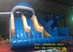 鲸鱼滑梯儿童水乐园充气泳池儿童水滑梯