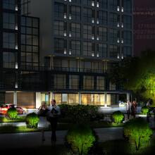 夜景设计办公楼夜景工程设计城市办公楼建筑夜景设计图片