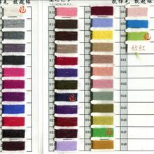厂家批发长毛貂绒纱线14s/2机织貂绒线手编线图片