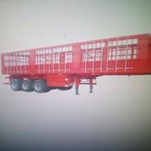 13米仓栏半挂车批发13米侧翻半挂车厂家图片
