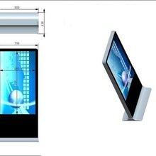 21.5寸超薄壁挂广告机中膺科技一拖三显示