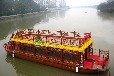 兴化楚歌木船厂供应中式木船景区游玩观光船特色餐饮船大型表演画舫船