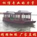 貴州出售木質旅游船水上觀光船8~16米單層畫舫船