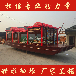 四川8米画舫船厂家供应观光船餐饮画舫船传统木船水上餐厅船水上房船住宿船