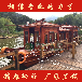 兴化楚歌木船出售海南三亚8米画舫船水上游玩观光船电动游船