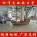 山东景观船厂家青岛海边海盗装饰船室内海盗木船