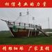 广东肇庆木船厂家大型家具船景观船海盗船仿古船