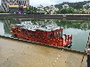 重庆山东辽宁哪里有12米仿古画舫船旅游景区用的大型餐饮画舫船