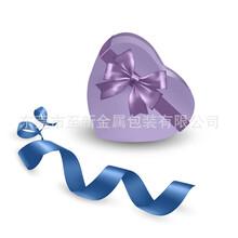 厂家定制喜糖铁盒马口铁喜糖盒心形喜糖铁盒心形铁盒图片
