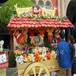 广西梧州防腐木售货亭长洲美食广场小吃车移动早餐车户外小木屋移动售货亭