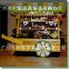 户外厂家直销防腐木移动售货亭来宾忻城景区售货亭早餐奶茶车木质岗亭