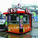 广西美食街防腐木小吃部柳州公园防腐木小吃部杂货车木制售卖亭