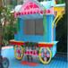广西北海公园可移动售货车合浦景区特色售货车户外实木售货亭