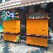 雁山公园景区防腐木售货车桂林商业步行街移动售卖车小吃实木售货车木质手推车