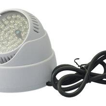 白色海螺红外LED灯特价19元12V供电新款夜视灯10台包邮图片
