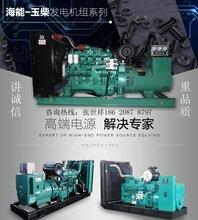 全自动60千瓦玉柴柴油发电机组三相四线全铜无刷柴油发电机组厂家图片