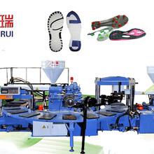 东瑞全自动TPU双色鞋底机器设备