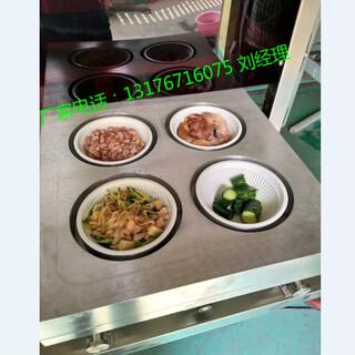 台式封盒封碗气调锁鲜包装机梅菜扣肉碗,封口机塑料碗图片1