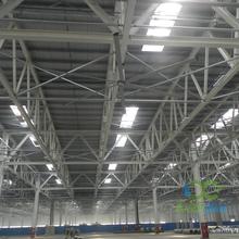 梧州高大厂房降温通风大型吊扇解决方案图片