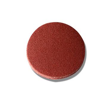 5寸红色植绒砂纸抛光片
