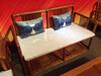 檀帝浙江东阳红木家具缅甸花梨木(大果紫檀)新中式沙发阔叶黄檀红木家具沙发