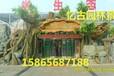 上海假树大门直销上海假树大门承包生态园仿木假树大门厂家