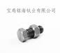 供应北京外六角钛螺丝M10外六角钛螺栓钛合金螺丝厂家直销